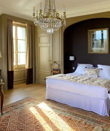 Chambre Moka, d'époque de maison de famille de prestige