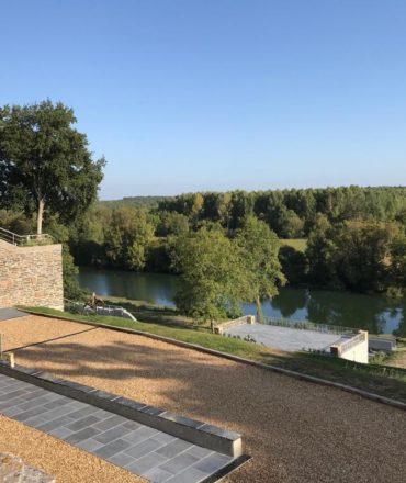 Paysage du Domaine de la Grande Richardière, maison de famille Cointreau