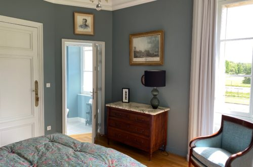 chambre bleue burlington-maison de famille